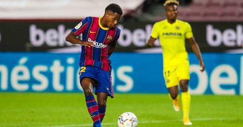 """Video highlight trận Barcelona - Villarreal: """"Ngả mũ"""" thần đồng, Messi chung vui"""