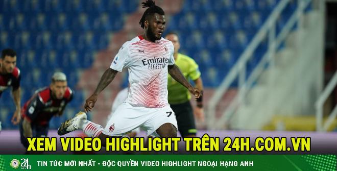 Video highlight trận Crotone - AC Milan: Bước ngoặt phạt đền, 2 đòn kết liễu