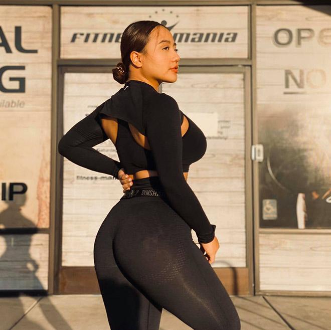 Người đẹp tập gym Long Gia Hân có vòng ba 105cm nhờ bị bạn trai…chia tay - 8