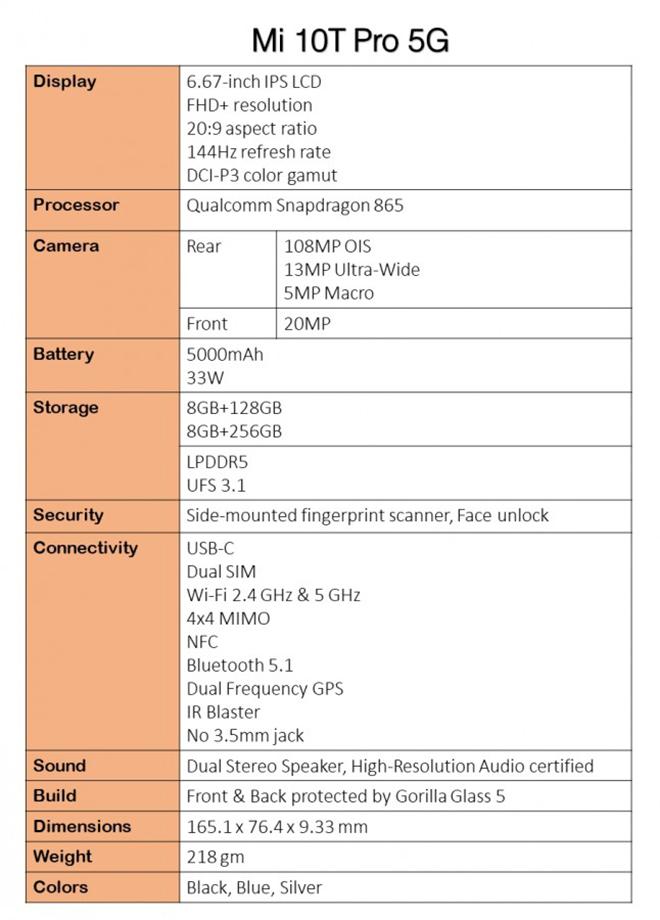 """Bộ ba Xiaomi Mi 10T chuẩn bị """"trình làng"""" - 3"""