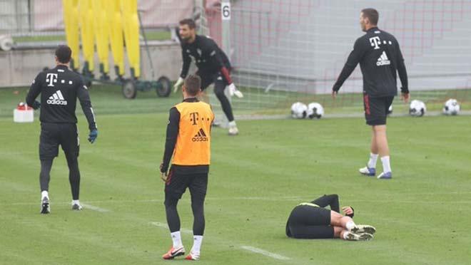 Nghi An Sao Trẻ Bayern Munich Va Chạm Với Lewandowski Lập Tức Phải Ra đi