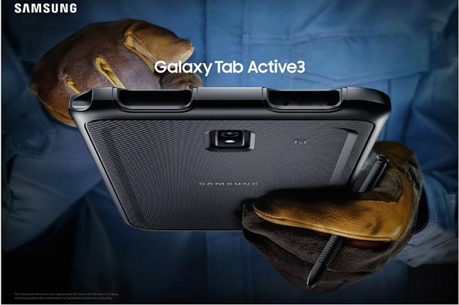 Ra mắt máy tính bảng Samsung Galaxy Tab Active 3 siêu chống chịu - 1