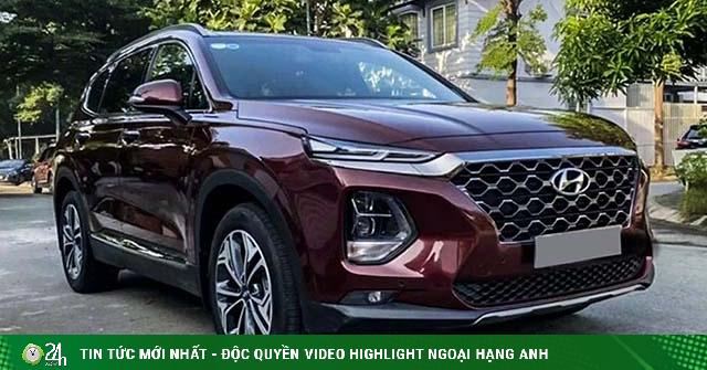 Hyundai SantaFe chạy lướt 2.000km rao bán lỗ 100 triệu đồng