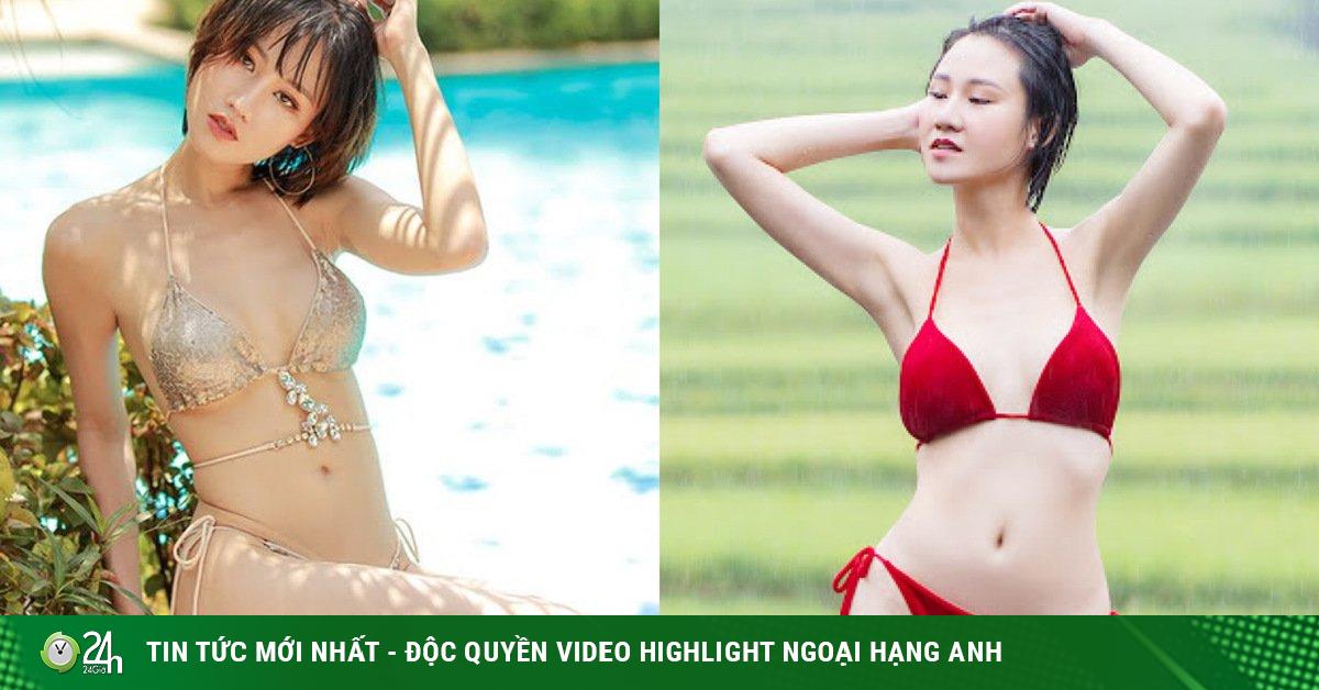 Chiêm ngưỡng nhan sắc gây sốt của Hoa hậu vòng eo 58cm giữa Mù Cang Chải mùa lúa chín