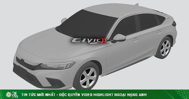 Xem trước Honda Civic 2022 qua bản dựng đồ họa, thiết kế đầu xe mượn của Accord