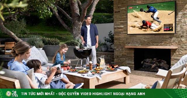 Samsung ra mắt TV The Terrace QLED ngoài trời đầu tiên, giá từ 100 triệu đồng