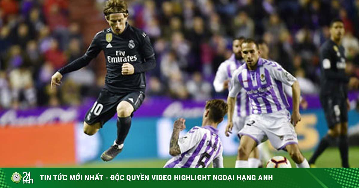Trực tiếp bóng đá Real Madrid - Valladolid: Phô diễn sức mạnh sân nhà