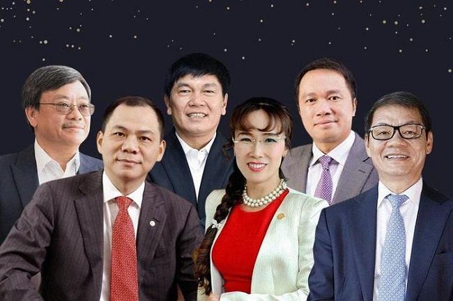 Những tỷ phú Việt Nam kiếm được bao nhiêu tiền sau nửa năm? - 1