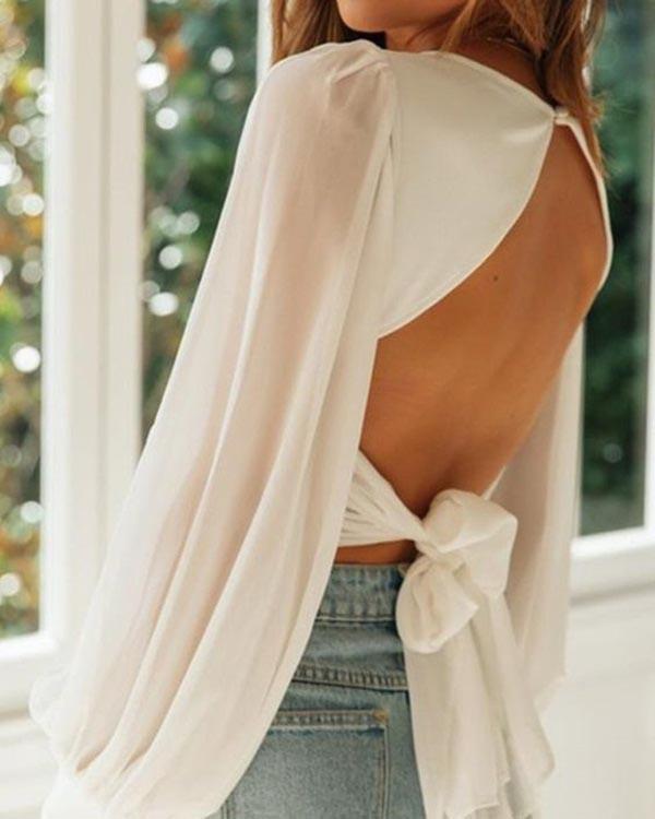 Muôn kiểu áo hở lưng cho nàng khoe nét quyến rũ trong mùa hè này - 1