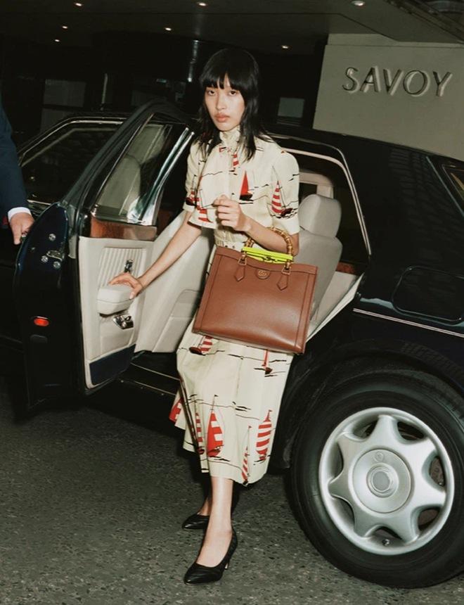 Next Top Phương Oanh là người mẫu Việt đầu tiên xuất hiện trên trang chủ của Gucci - 2