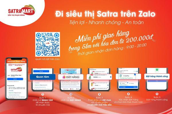 Hệ thống bán lẻ SATRA đảm bảo nguồn cung hàng hóa phục vụ người dân - 2
