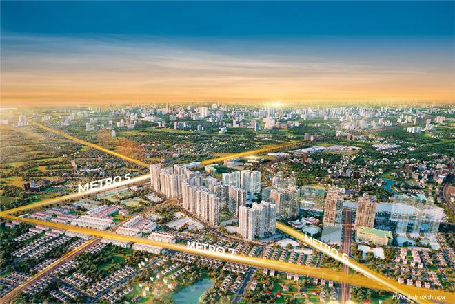 Dự đoán tương lai của đô thị siêu kết nối The Metrolines - 1