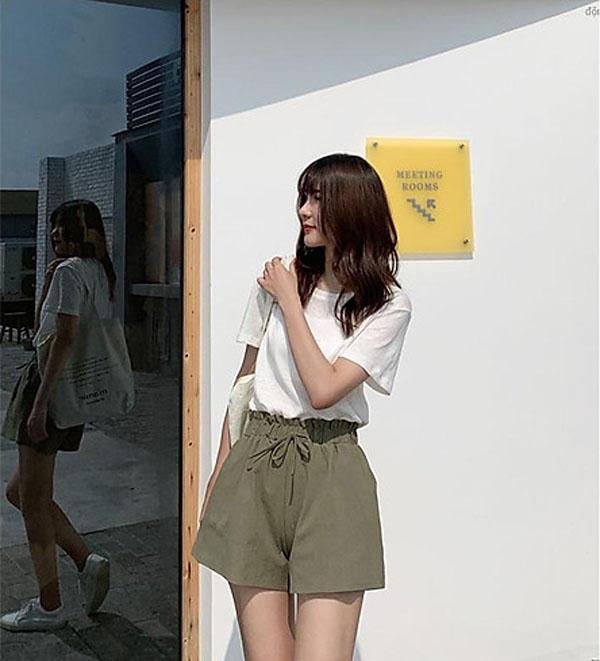 5 mẹo giúp nàng mặc quần short tôn dáng - 1