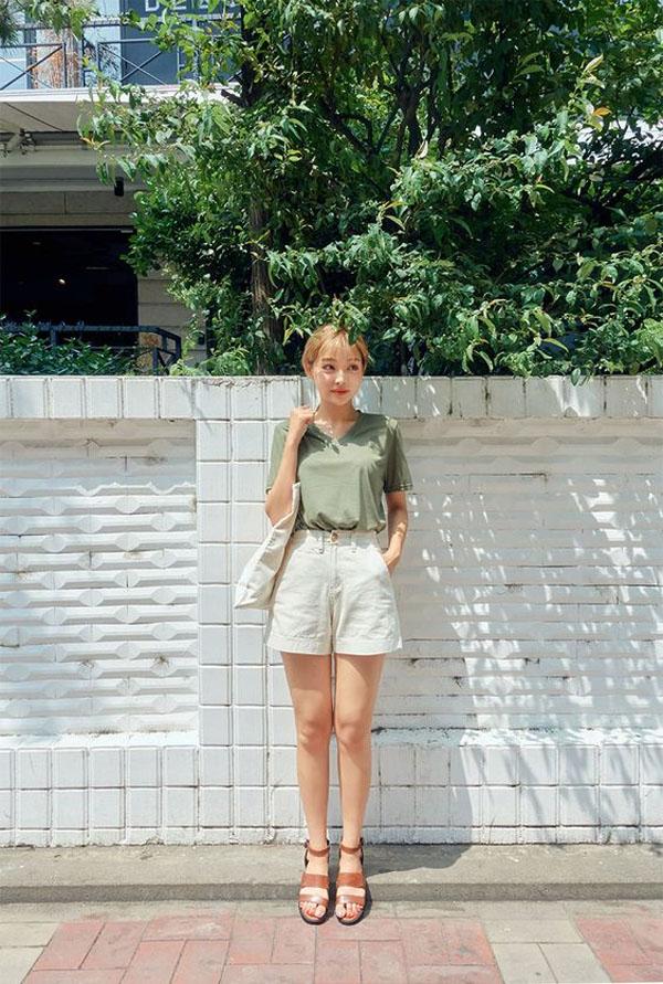 5 mẹo giúp nàng mặc quần short tôn dáng - 9