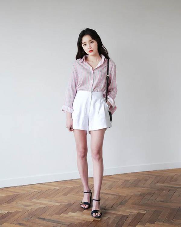 5 mẹo giúp nàng mặc quần short tôn dáng - 3