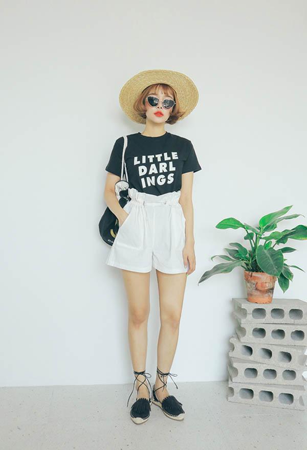 5 mẹo giúp nàng mặc quần short tôn dáng - 5