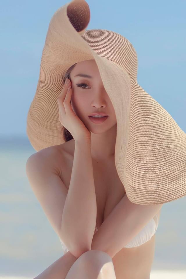 Vợ 3 kém 16 tuổi của Chi Bảo đăng ảnh bikini, thông báo mang thai sau 4 tháng kết hôn - 1