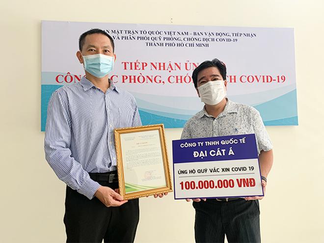 Đại Cát Á và sứ mệnh đóng góp quỹ vắc-xin phòng Covid vì cộng đồng - 2