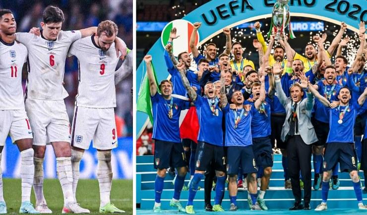 """Italia """"bản lĩnh thép"""" xứng danh Vua EURO, ĐT Anh ôm hận vì """"tội đồ"""" MU (Clip 1 phút Bóng đá 24H) - 1"""