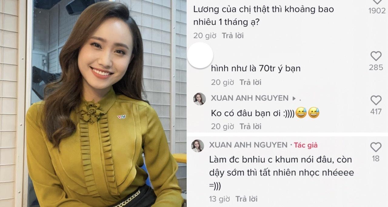 MC nổi tiếng VTV lên tiếng về tin đồn lương 70 triệu/tháng khiến dân mạng ngỡ ngàng - 1