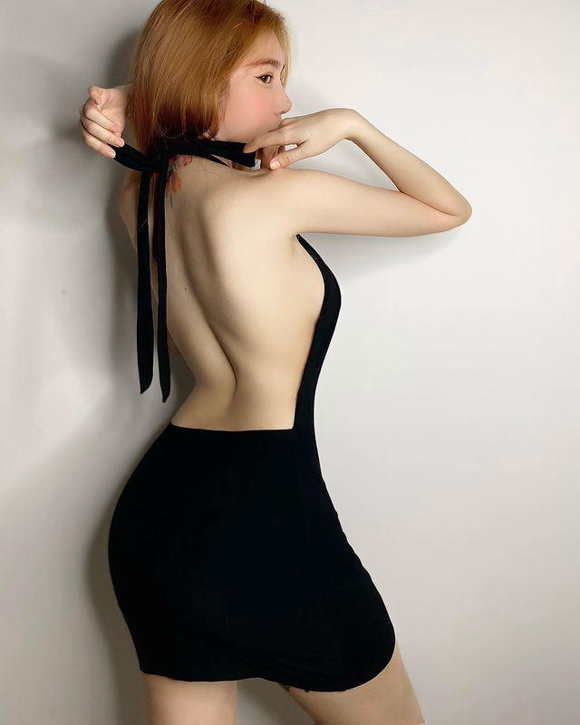 """Chiếc váy """"thần thánh"""" giúp hot girl Trâm Anh, Elly Trần khoe vẻ đẹp rất đỗi đàn bà - 4"""