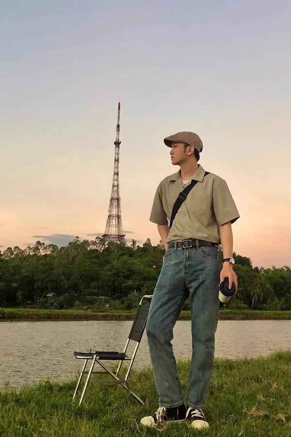 """Teen Quảng Nam ngất ngây với """"Tháp Eiffel"""" giữa lòng thành phố Tam Kỳ - 1"""