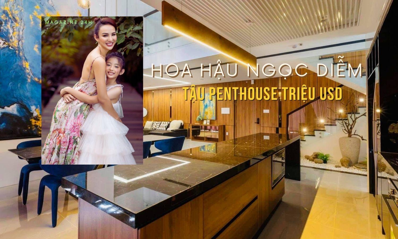 Hoa hậu Ngọc Diễm tậu penthouse triệu USD trước khi rời showbiz - 1