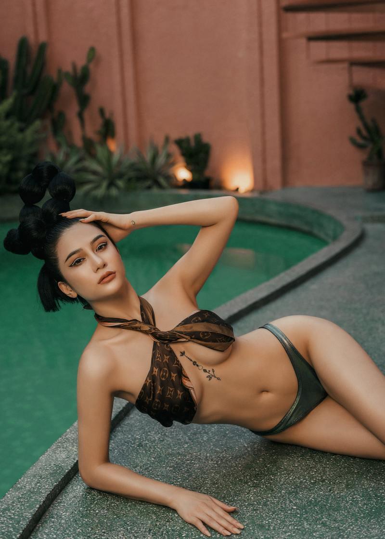 """Ảnh thời trang """"tiên nữ tắm suối"""" của mỹ nữ Quảng Ninh - 9"""