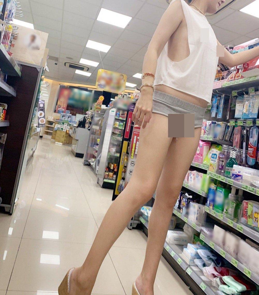 Cô gái mặc gợi cảm đến cửa hàng tiện lợi nhưng không bị chê bai vì lý do này - 9