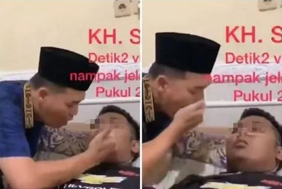 """""""Đại sư"""" Indonesia qua đ.ời sau khi tự hít virus S.A.R.S-CoV-2 để chứng minh Co.VID-19 kh.ông tồn tại - 1"""