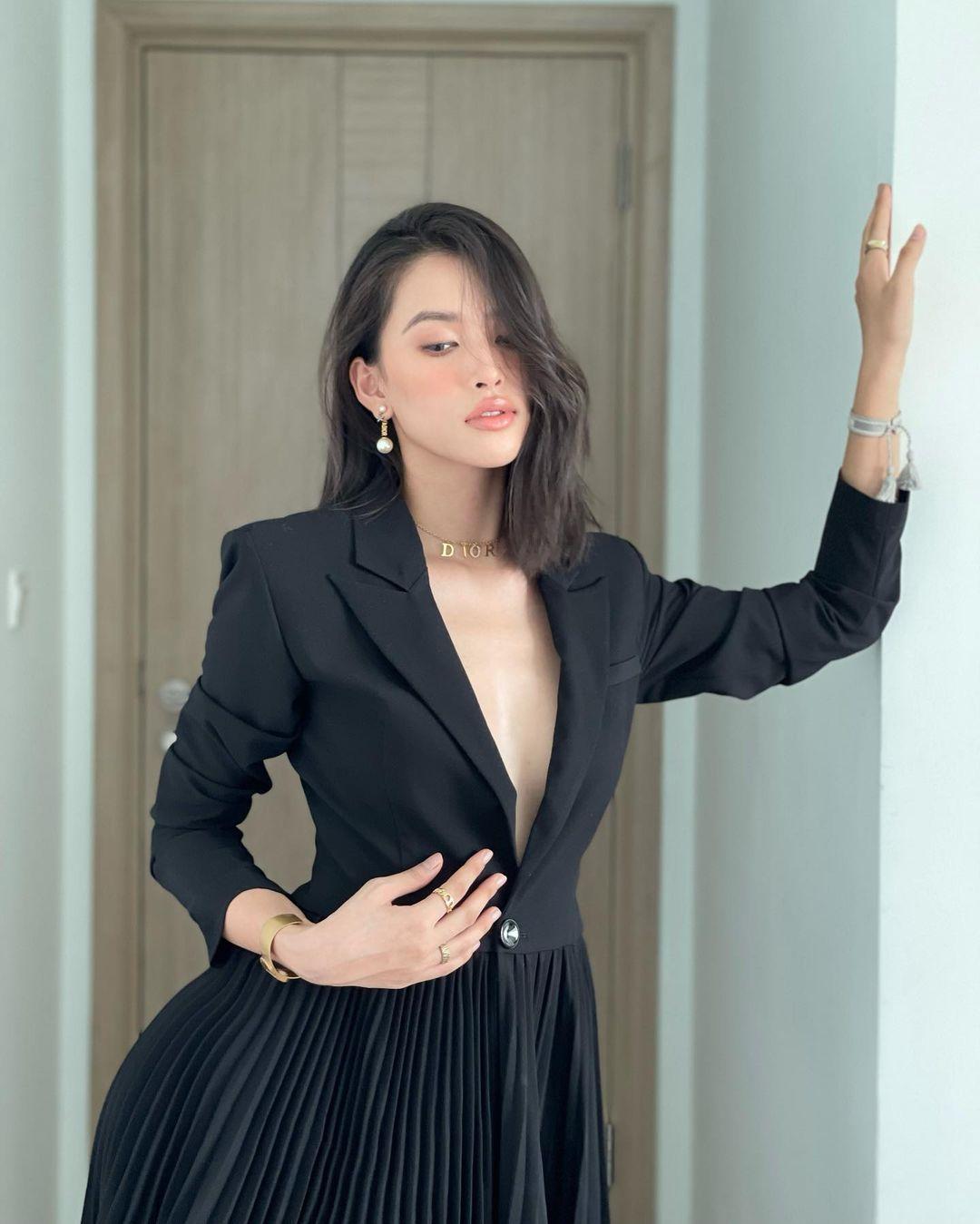 Tiểu Vy, Mai Phương Thúy diện blazer sành điệu - 3