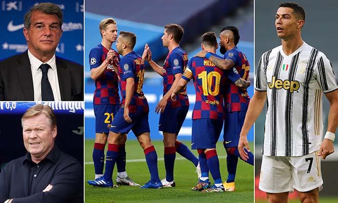 Choáng Barca dùng Ronaldo để cảnh báo về Covid-19, răn đe Messi và đồng đội - 3