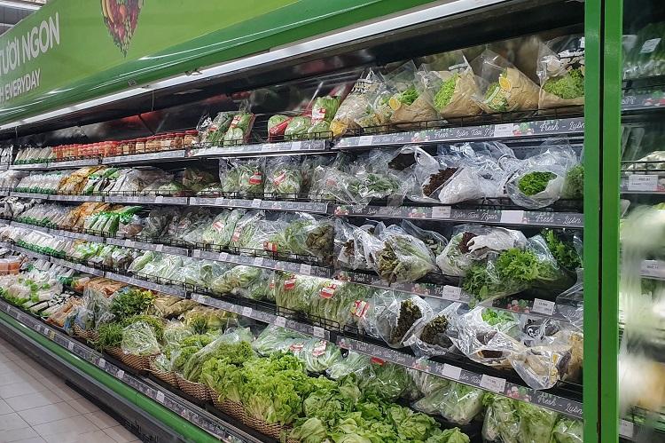 Hà Nội: Thực phẩm đầy ắp kệ hàng, siêu thị cam kết bình ổn giá phục vụ nhân dân chống dịch - 3