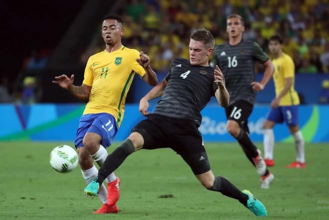 Nhận định bóng đá nam Olympic Brazil - Đức: Đỉnh cao đại chiến, rực lửa tấn công - 1