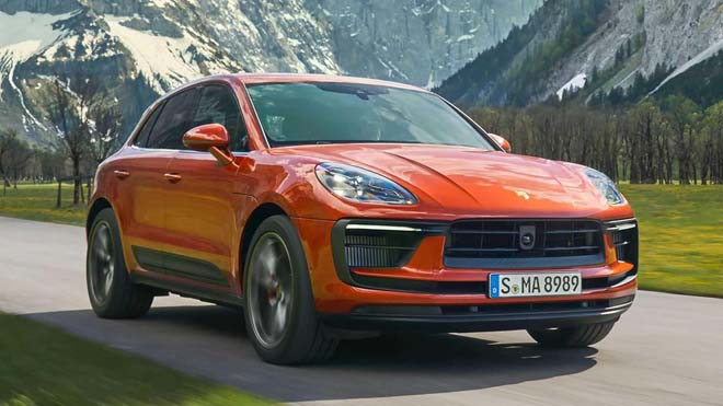 Porsche Macan 2022 trình làng, diện mạo thể thao và nội thất hiện đại hơn - 3