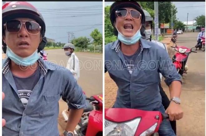 Nam thanh niên chửi bới, đạp cảnh sát ở chốt kiểm soát dịch tại Đồng Nai là ai?