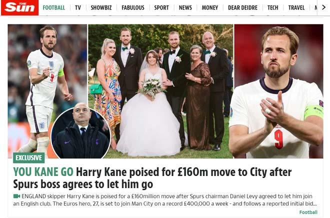 NÓNG: Chủ tịch Tottenham đồng ý bán Harry Kane cho Man City, mức giá gây sốc - 1