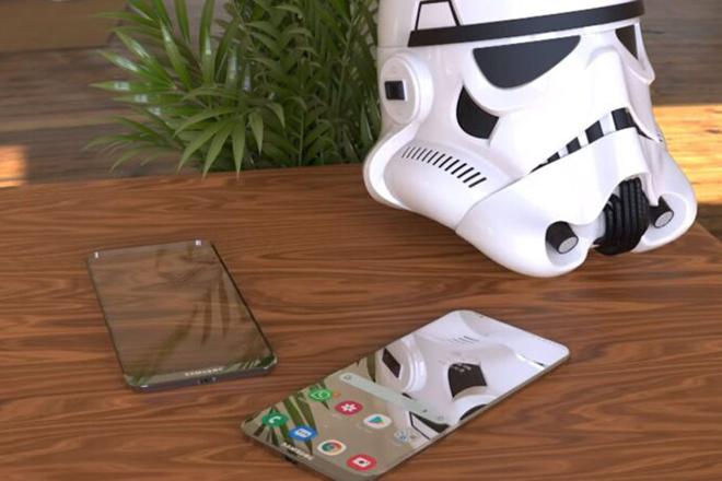 Đã mắt với ý tưởng điện thoại trong suốt của Samsung - 1