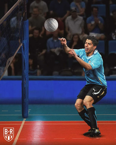 """Ronaldo thi nhảy cao, Messi hóa """"xạ thủ"""" đóng vai VĐV tranh tài ở Olympic 2021 - 7"""