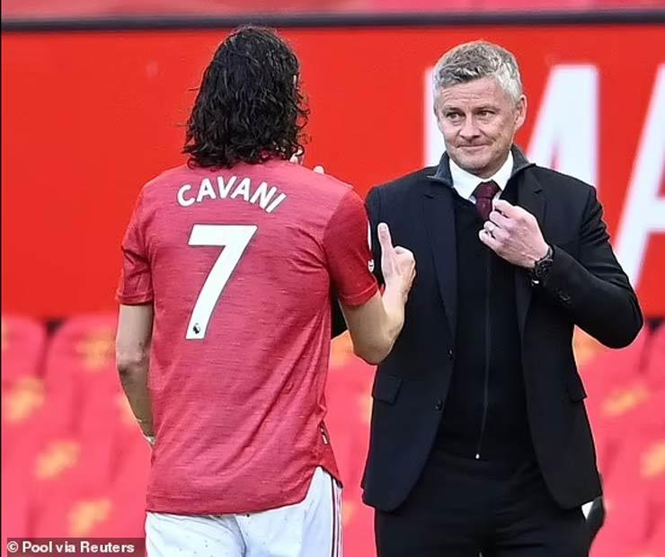 """Sancho không """"cướp"""" áo số 7 của Cavani, triệu fan MU khen cao thượng - 4"""