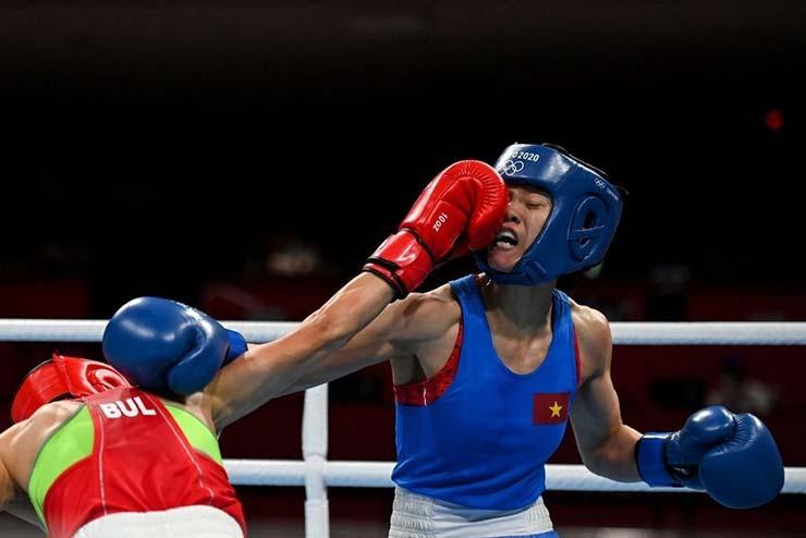 Trực tiếp đoàn Việt Nam dự Olympic ngày 25/7: Nguyễn Thị Tâm thua sát nút môn boxing - 1