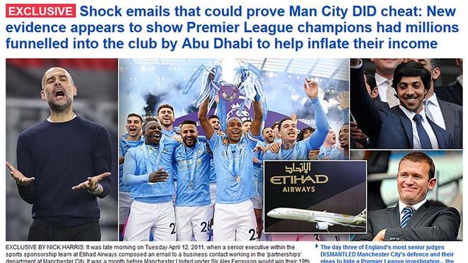 Man City bị phanh phui lừa dối UEFA: Nguy cơ bắt đầu mùa giải với điểm âm - 1