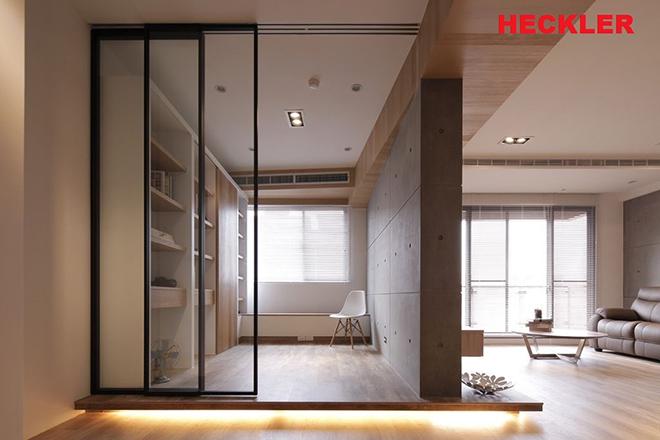 Cửa trượt Heckler – cửa nhôm Slim siêu mỏng độc đáo cho không gian nội thất - 6