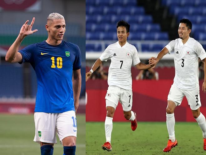 8 anh hào tiến vào tứ kết bóng đá Olympic: Brazil quyết giữ ngai vàng, dè chừng Nhật Bản - 3