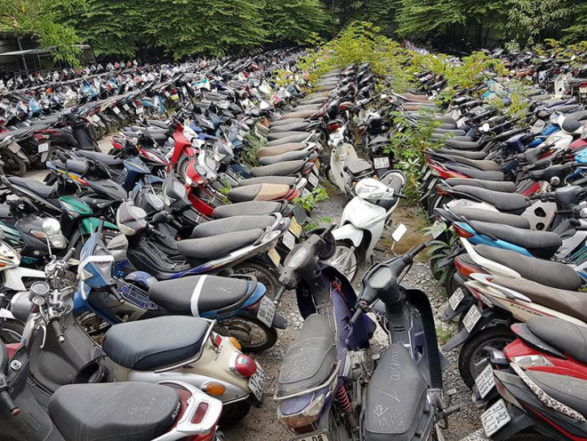 Hà Nội thí điểm thu hồi xe máy cũ, hỗ trợ đến 4 triệu/xe - 1