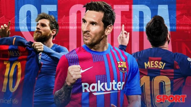 Nóng: Messi đồng ý ở lại Barcelona tới 39 tuổi, bao giờ công bố chính thức? - 1