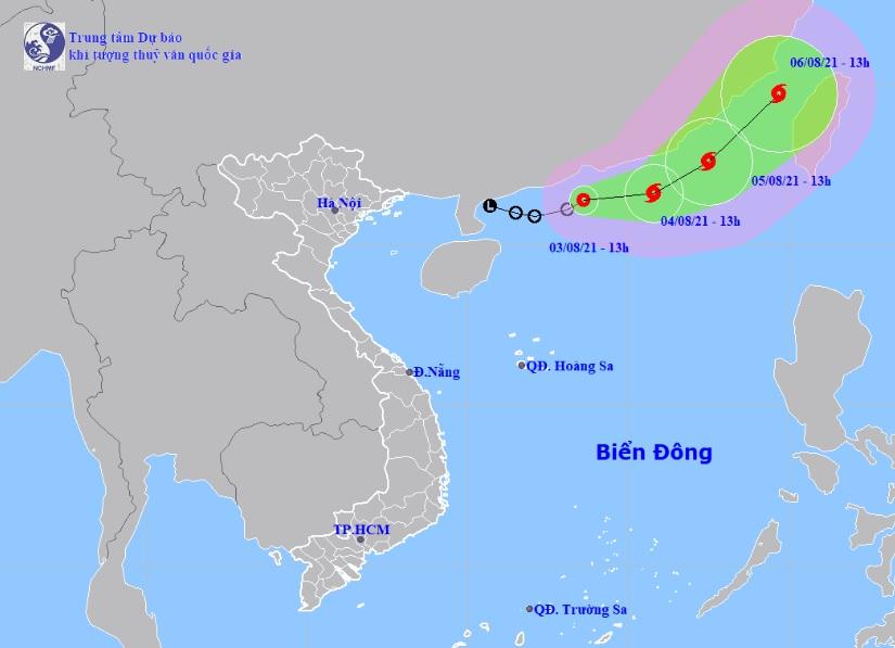 Áp thấp nhiệt đới tăng cấp gây biển động rất mạnh, sóng cao 3-5m - 1