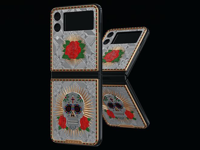 """""""Choáng"""" với bản xa xỉ của Galaxy Z Fold 3 và Galaxy Z Flip 3, giá 1 tỷ đồng - 1"""
