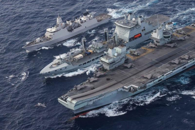 Biển Đông: Thế giới lập các 'vành đai' cô lập Trung Quốc - 3