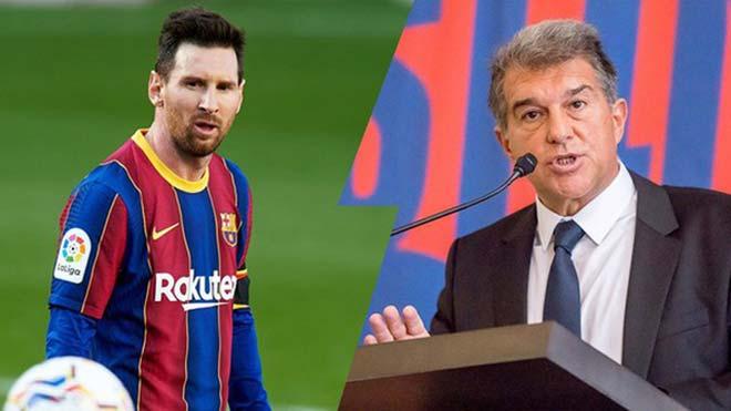 Họp báo vụ Messi rời Barcelona: Chủ tịch Laporta tri ân M10, tuyên bố CLB là trên hết - 4